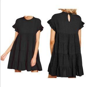 Dresses & Skirts - ⚠️‼️SOLD‼️⚠️ Ruffle Short Sleeve Dress